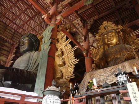 東大寺 盧舎那仏像・如意輪観音菩薩像