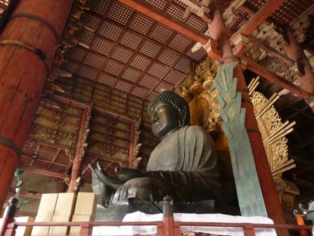 東大寺 盧舎那仏像 3