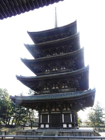 興福寺 五重塔 1