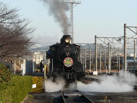 梅小路蒸気機関車館 SLスチーム号 2