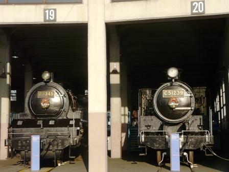 梅小路蒸気機関車館 蒸気機関車たち 1