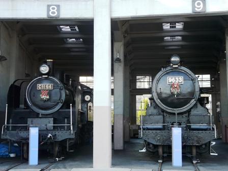 梅小路蒸気機関車館 蒸気機関車たち 4
