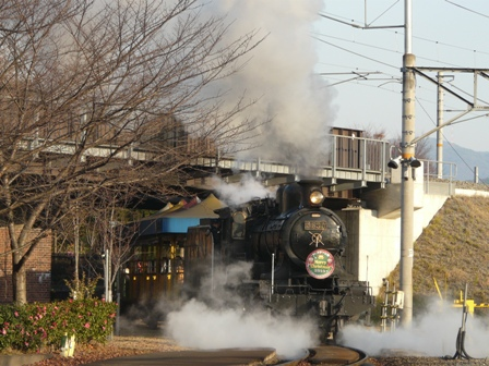 梅小路蒸気機関車館 SLスチーム号 6