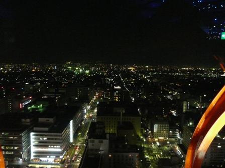 京都タワー 夜景 1