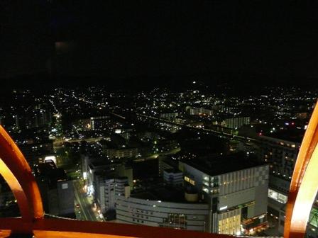 京都タワー 夜景 3