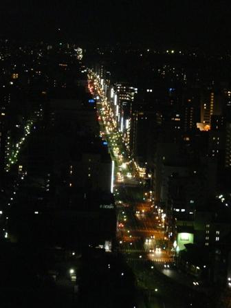 京都タワー 夜景 4