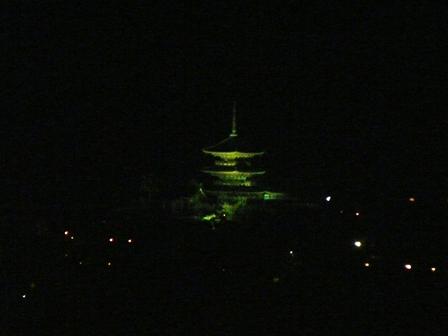 京都タワー 夜景 6