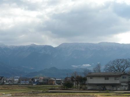 雪の山・皿ヶ嶺方面