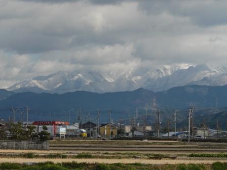 雪の山・石鎚方面 2