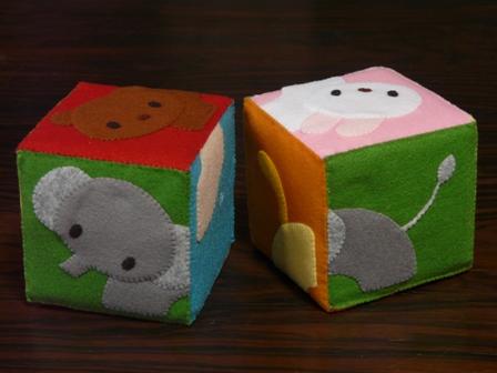 絵合わせブロック (2個組) Ⅱ 1