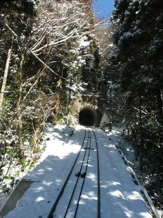 筑波山ケーブルカー (上り) から 6