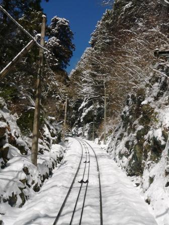 筑波山ケーブルカー (上り) から 7