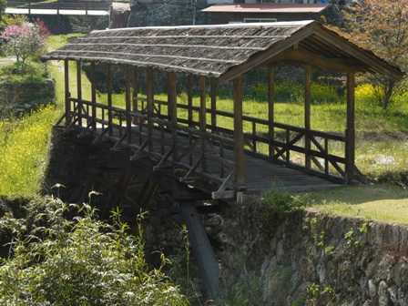 屋根付き橋 田丸橋 3