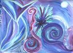 Claudia Pastorius / 2002- Landscape of Light- DREAM IN PURPLE