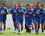 日本代表練習風景