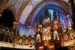 モントリオール、旧市街にあるノートルダム教会