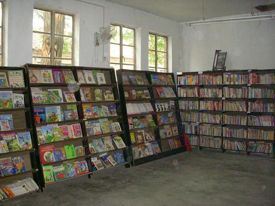 光愛学校-図書室