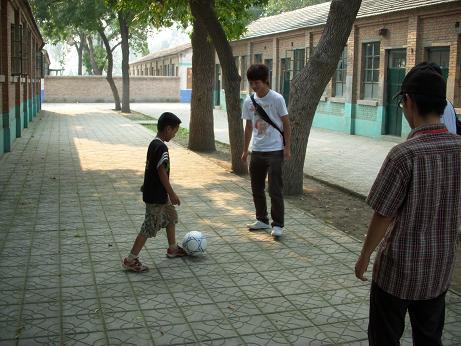 光愛学校-サッカー