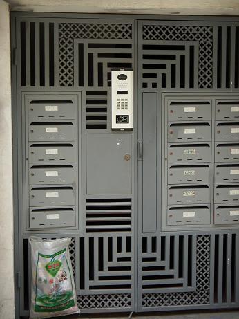 オートロックの扉
