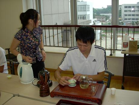 写真5:緑茶(学生)