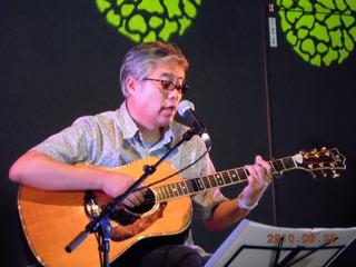 Acoustic LIVE in 村上♪ 菜の花手作りマーケット