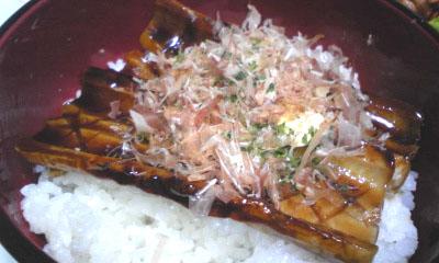 090215_ちくわの蒲焼丼