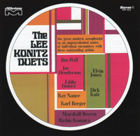 The Lee Konitz Duets