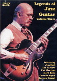 Legends of Jazz Guitar Volume Three