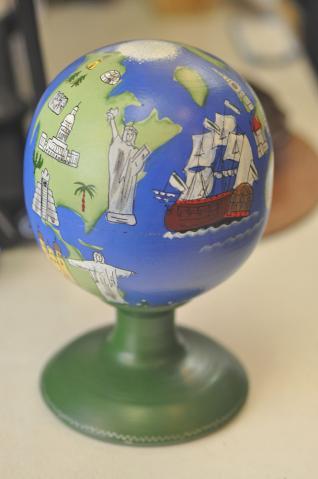 地球儀マト1008