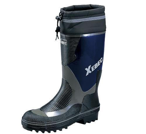 XEBEC 85704 安全長靴 10 ネイビー