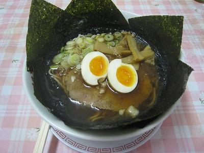きわみや味玉のりラーメン尾道麺