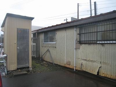 古川農園トイレ