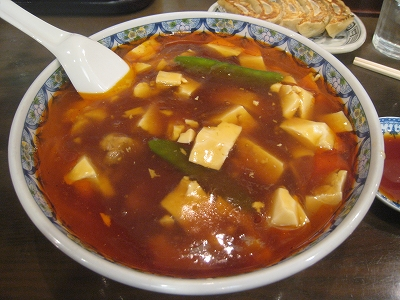 中華屋スーラー湯麺