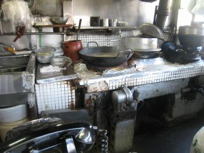 岳陽楼厨房