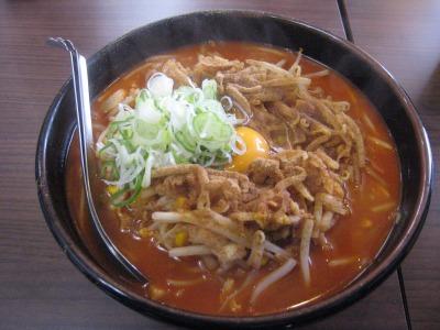 柳家キムチ納豆ラーメン
