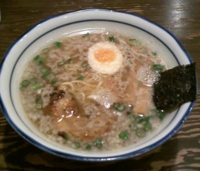 麺屋正宗醤油ラーメン
