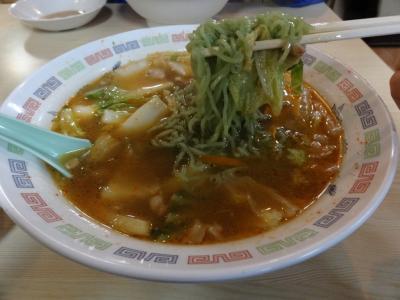 さわき 緑麺復活