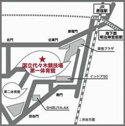 代代木MAP