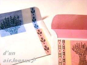 手作り封筒-ラベンダー6