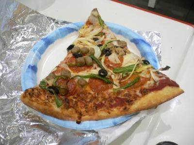 小夏家が食べたピザ