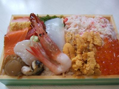雑魚亭のお弁当 海の饗宴
