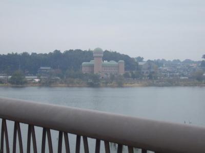 手賀大橋から親水公園