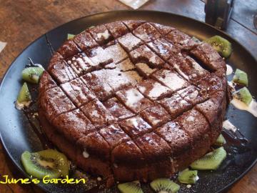 自家製ガトーショコラケーキ