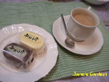 チーズケーキ&チョコレートケーキ
