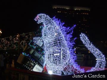 アクアシティお台場のゴジラ