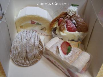 ヨコヤマのケーキ