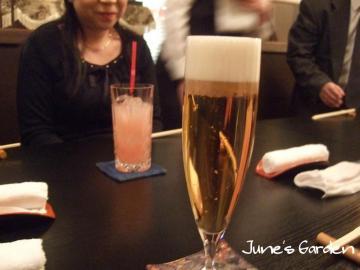 ビールで乾杯☆