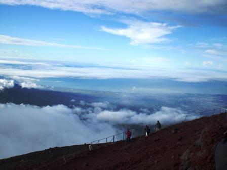 富士山から海
