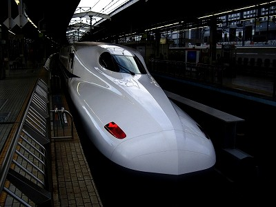 N700系・京都駅1-20091231