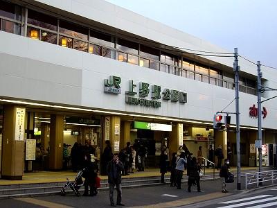 上野駅20100123